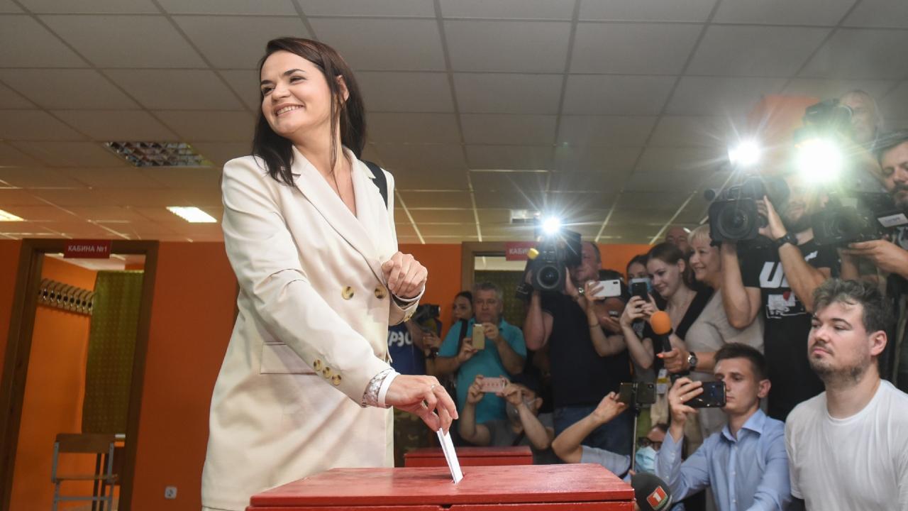 В новом обращении Светлана Тихановская призывает к ненасильственному протесту