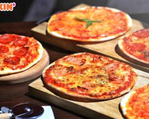 """""""დანკინის"""" ამერიკული რესტორნების მენიუს საქართველოში პიცა დაემატა"""