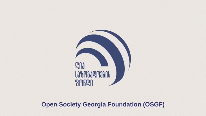 «Фонд открытое общество — Грузия» профинансировал проекты для смягчения последствий пандемии