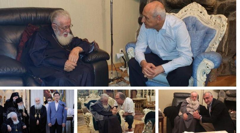 «Чудотворное влияние» патриарха и предвыборные визиты политиков