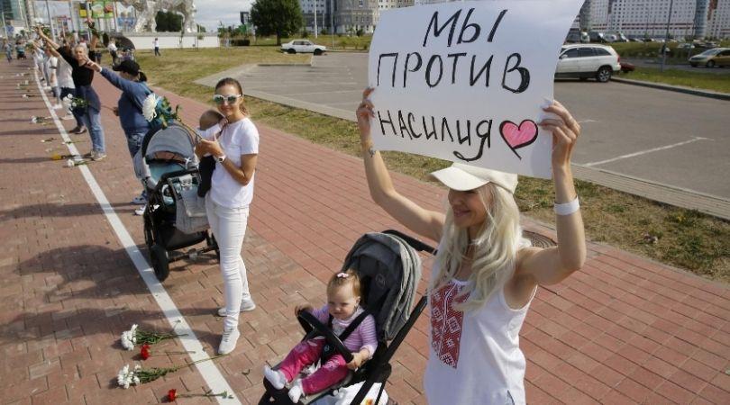 Протесты в Беларуси продолжаются невзирая на жестокость силовиков