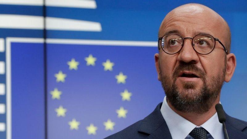 Президент Европейского совета побывал на линии российской оккупации у села Хурвалети