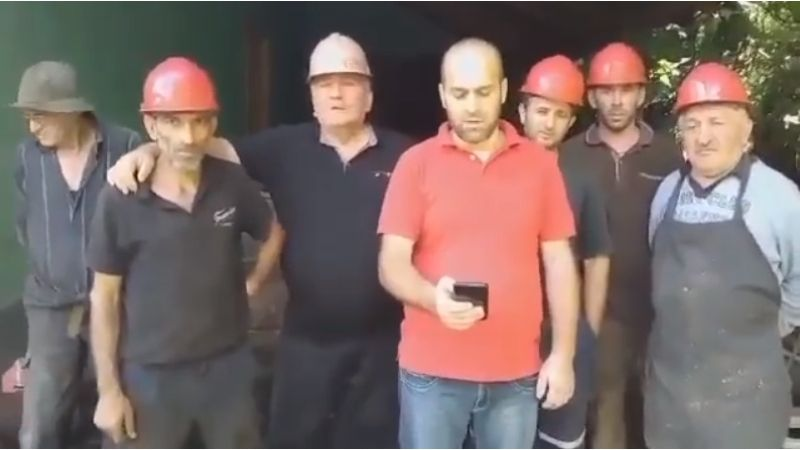 Грузинские рабочие и горняки выразили поддержку белорусским коллегам