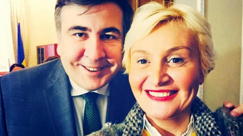Телеведущая приняла предложение Саакашвили пойти в политику