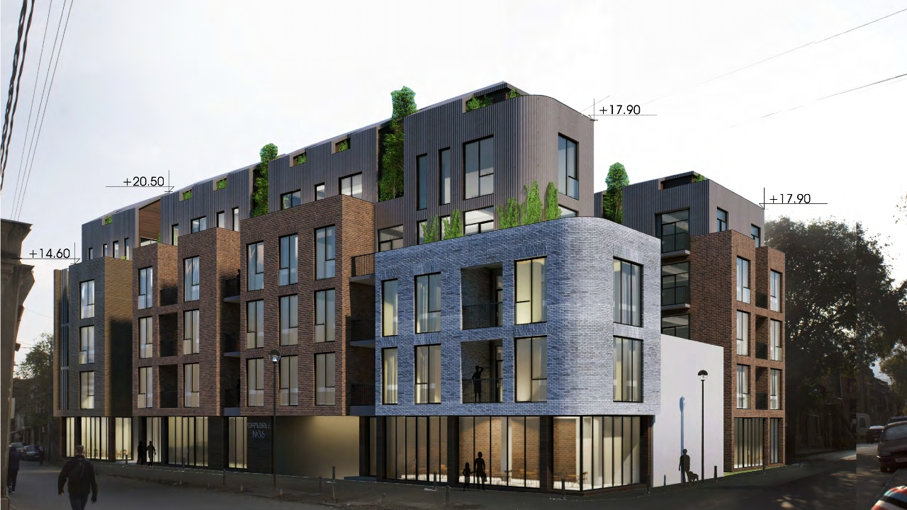 კომპანიას ფიროსმანზე რამდენიმესართულიანი შენობის აშენება სურს