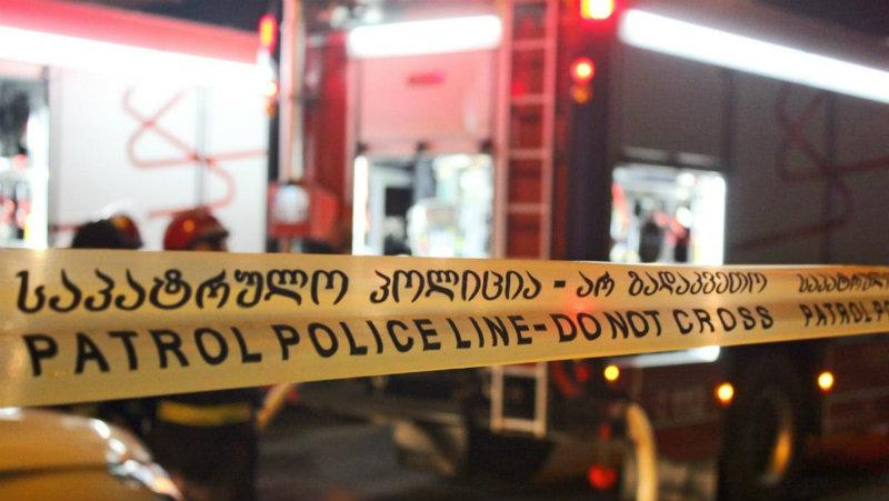 Два человека погибли во время пожара в Тбилиси