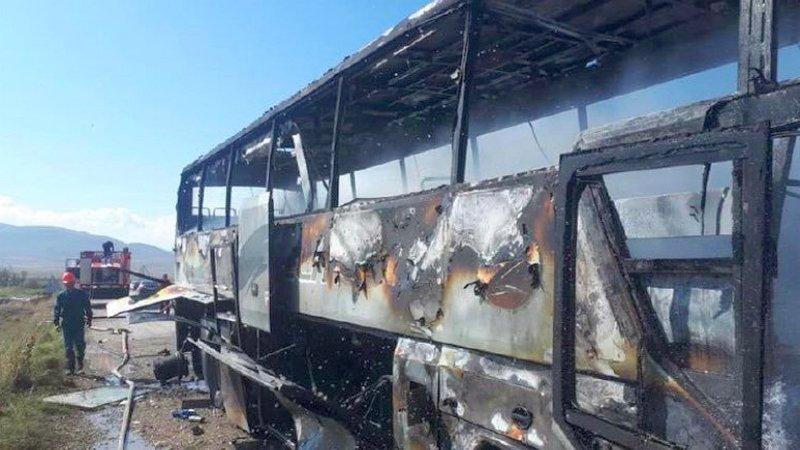 Минобороны Армении: в Азербайджане взорван гражданский автобус