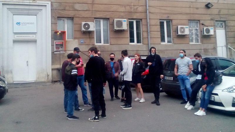 Сотрудники компании Silknetустроили акцию протеста