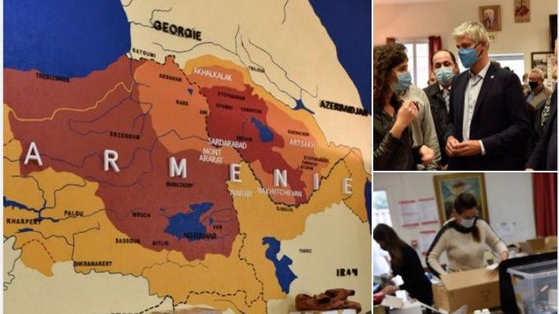 МИД: карта с неверным обозначением Ахалкалаки, не отражает позицию Франции