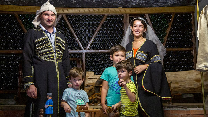 Коттеджи среди виноградников, семья Шервашидзе развивает бизнес при поддержке ЕC