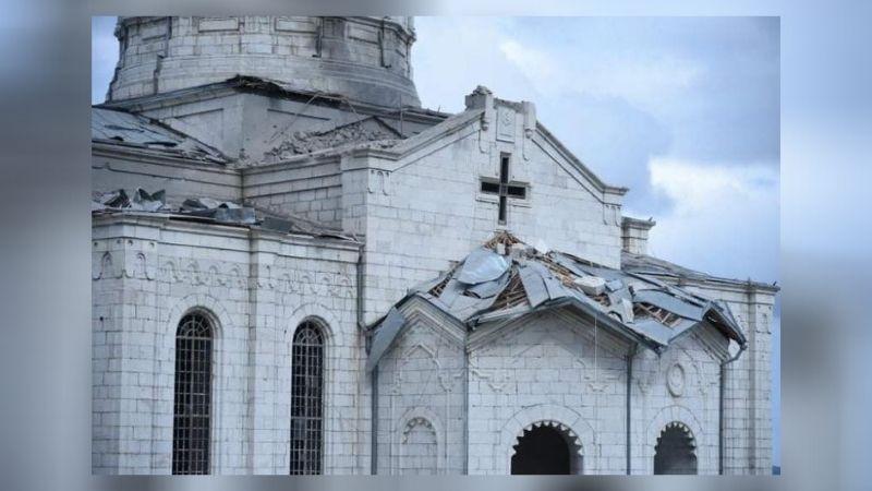 Армения: ВС Азербайджана обстреляли церковь
