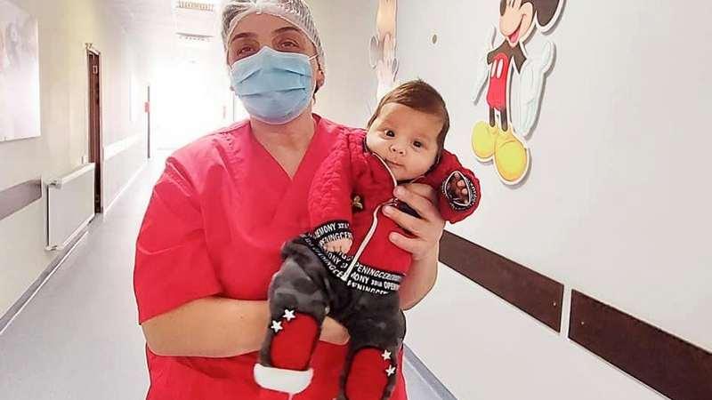 В Грузии месячный малыш победил коронавирус