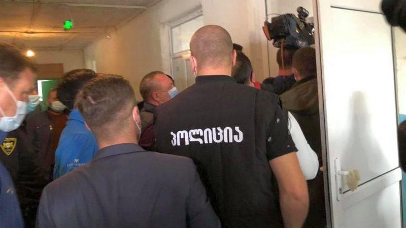 Беспорядки на избирательном участке в селе Кизиладжло