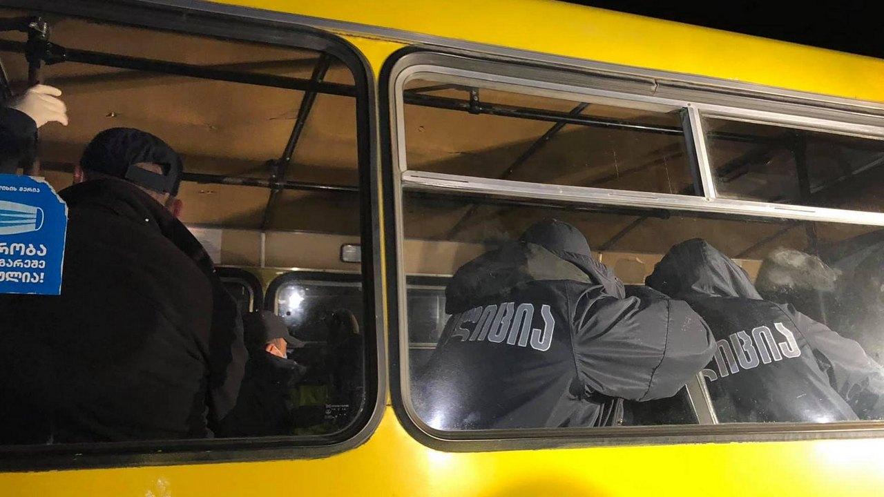 Начальник полиции о мобилизации спецназа в Марнеули: «Свяжитесь с пресс-службой»