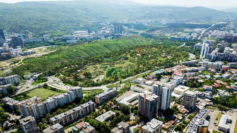 «Центральный парк Тбилиси» — каким он будет? [Фото]