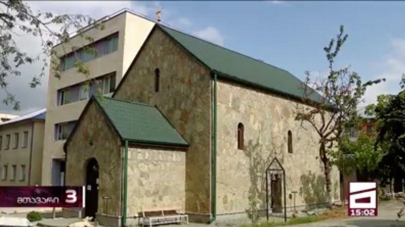 COVID-19: в одной из церквей Тбилиси прекратили богослужение