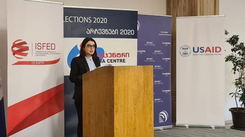 ISFED сообщает о нарушениях на парламентских выборах Грузии