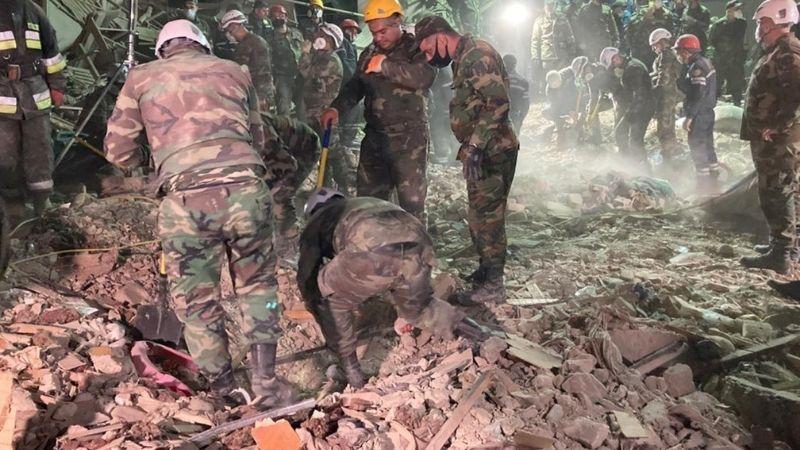 Баку: В результате бомбардировки Гянджи погибло более 10 мирных жителей