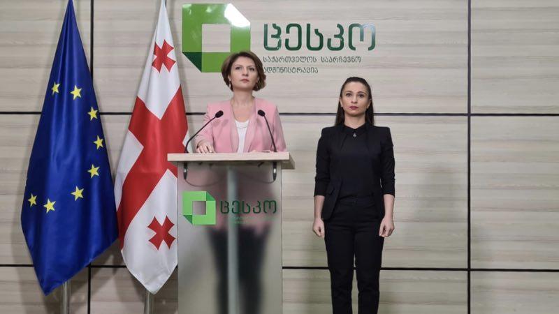 Пресс-спикер ЦИК Грузии покинула должность