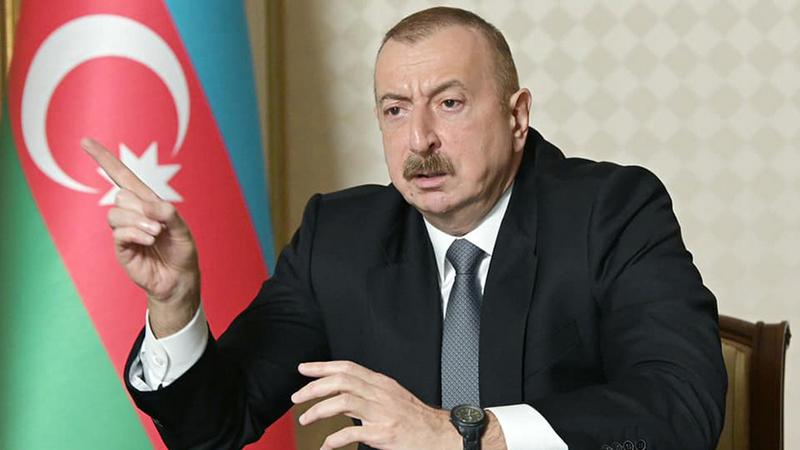 Президент Алиев сообщил о взятии населенных пунктов азербайджанскими ВС