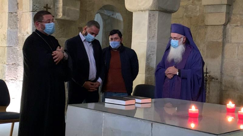 В Тбилиси прошла молитва за мир на Кавказе с участием армянских и азербайджанских священнослужителей
