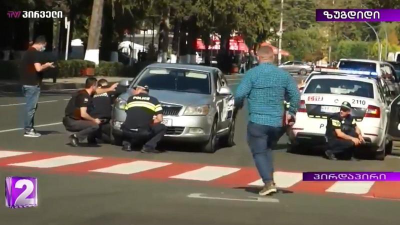 В Зугдиди грабитель банка захватил заложников