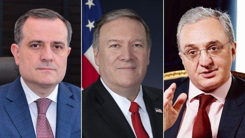 Госсекретарь США встретится с главами МИД Армении и Азербайджана