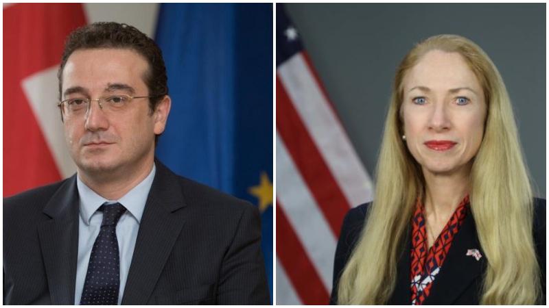 Послы США и Грузии провели встречу