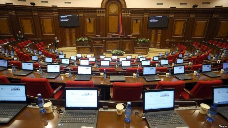В парламенте Армении будут представлены три политические силы