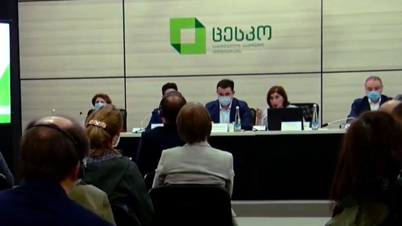 Глава ЦИК Грузии встретилась с дипломатами и наблюдателями