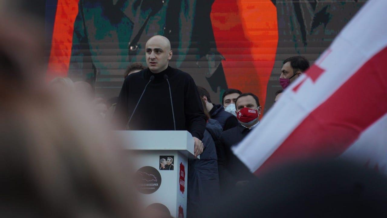 Мелия призвал к бессрочной акции протеста у здания ЦИК Грузии