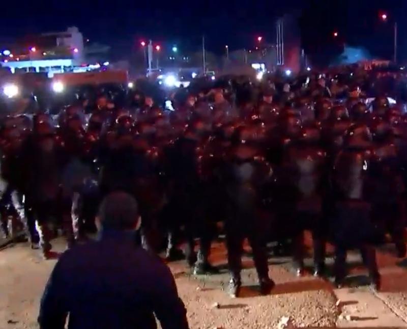 პოლიციამ გადამეტებული ძალა გამოიყენა | ISFED