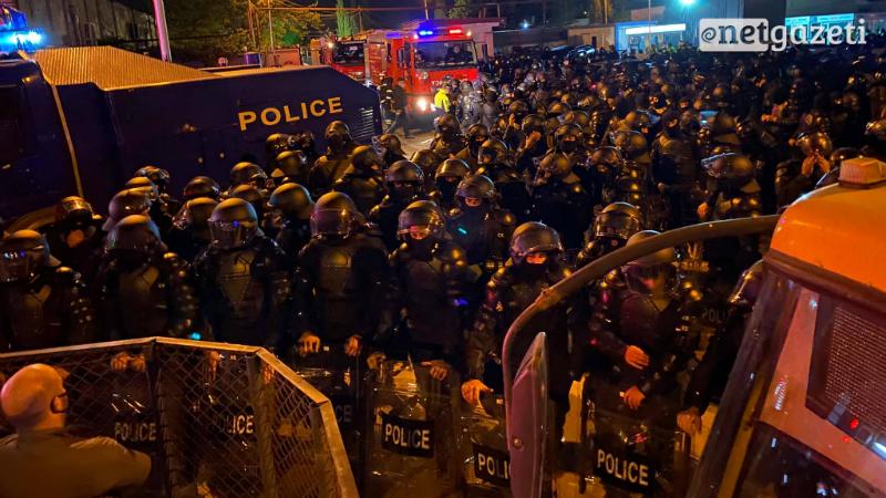 МВД Грузии: на акции 8 ноября были задержаны 19 человек
