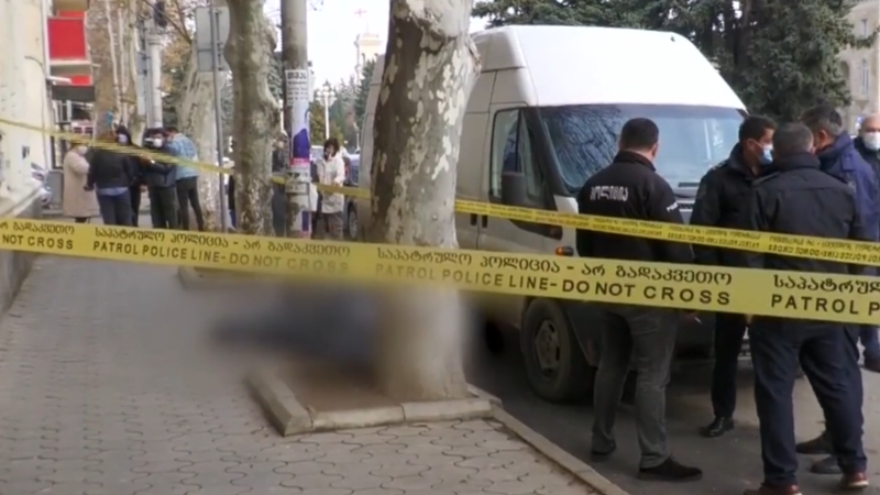 გორში, ქალაქის ცენტრში, კაცი ქუჩაში გარდაიცვალა