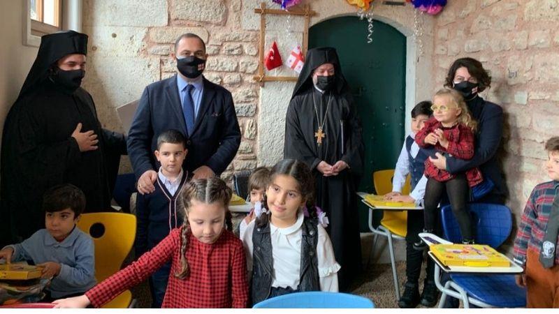 В Стамбуле открылась грузинская воскресная школа