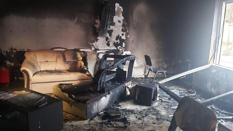 В Тбилиси неизвестные подожгли офис Ники Мелия