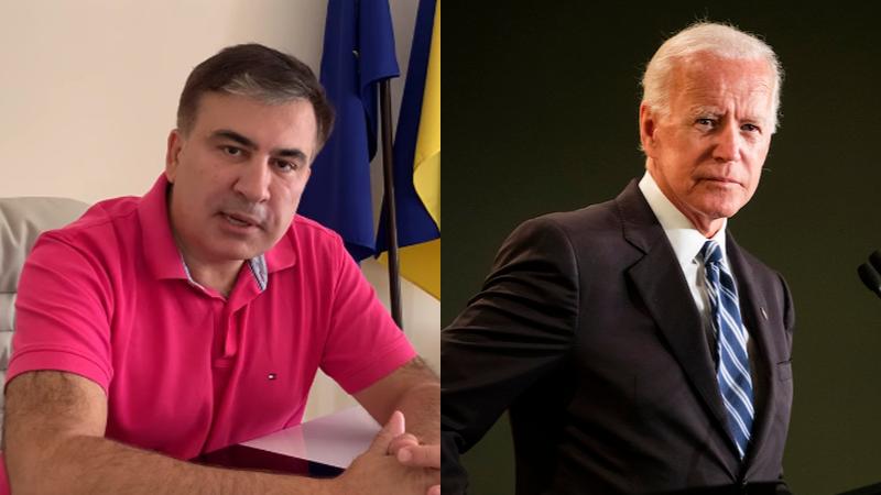 Саакашвили: Байден называл меня Джорджом Вашингтоном Восточной Европы