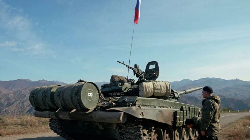 Российские миротворцы прибыли в Степанакерт