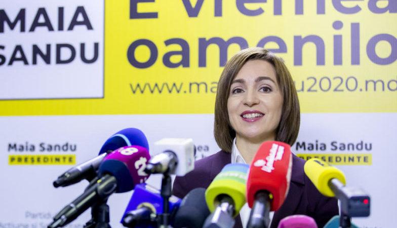 Прозападная партия получила большинство на выборах в Молдове