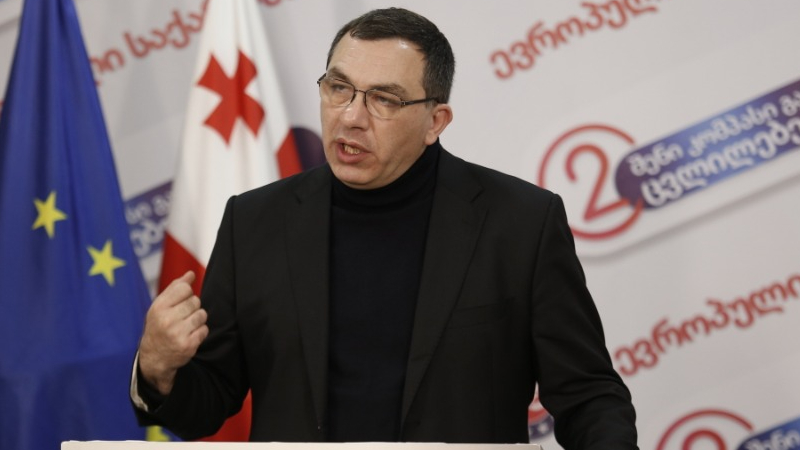 Гига Бокерия избран председателем партии «Европейская Грузия»