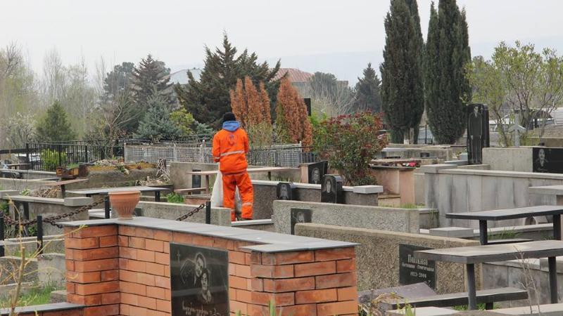 Граждане нарушившие запрет на посещение кладбищ будут оштрафованы на 2000 лари