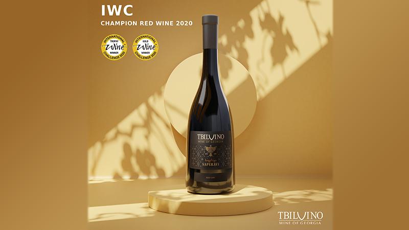 Грузинское вино стало золотым призером International Wine Challenge
