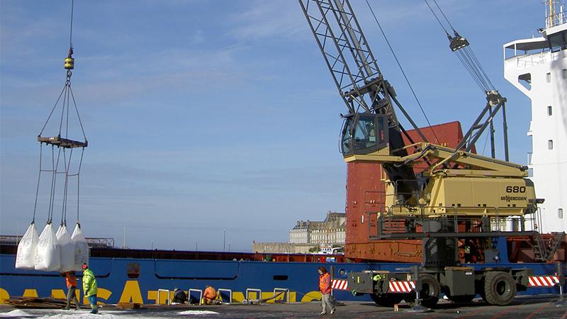 В Потийском порту заработает новый терминал