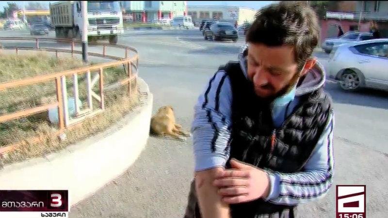 Гражданин Грузии обвинил полицейских в избиении