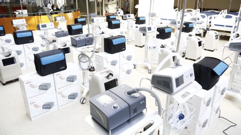 Грузия получила от Всемирного банка 500 аппаратов ИВЛ и другое медоборудование