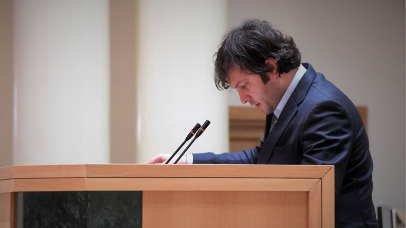 Иракли Кобахидзе избран председателем «Грузинской мечты»