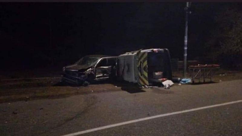 ავარიაში მოყვა სასწრაფო, რომელსაც სხვა ავარიისას დაშავებული გადაჰყავდა