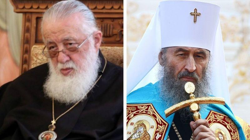 Илия Второй поздравил главу Украинской православной церкви Московского патриархата с юбилеем