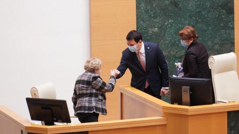 Арчил Талаквадзе избран спикером парламента Грузии