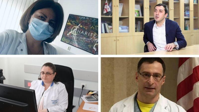 Новая «Международная ассоциация грузинских врачей» поможет в борьбе с ковидом